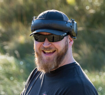 Bo, gun safety instructor at Alaska Tactical