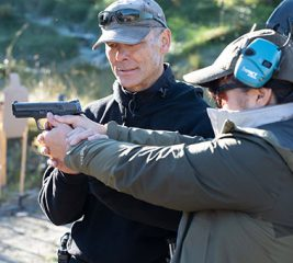Woman receives private firearms instruction in Anchorage.